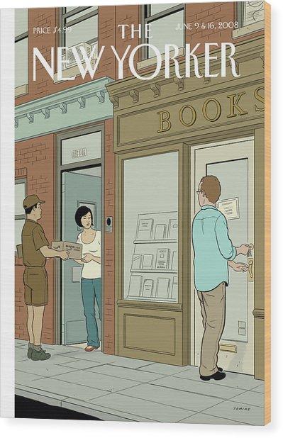 New Yorker June 9th, 2008 Wood Print