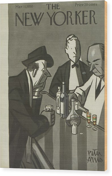 New Yorker March 11th, 1950 Wood Print