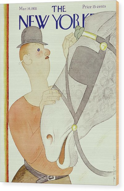 New Yorker March 14 1931 Wood Print