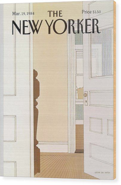 New Yorker March 19th, 1984 Wood Print