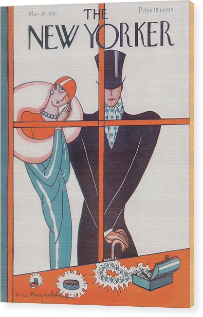 New Yorker March 20th, 1926 Wood Print