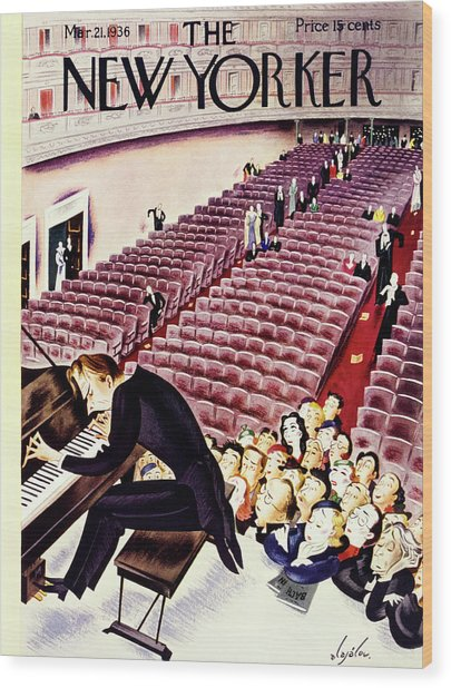 New Yorker March 21 1936 Wood Print