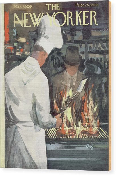 New Yorker March 7th, 1959 Wood Print