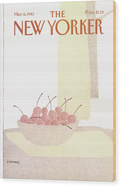 New Yorker March 8th, 1982 Wood Print