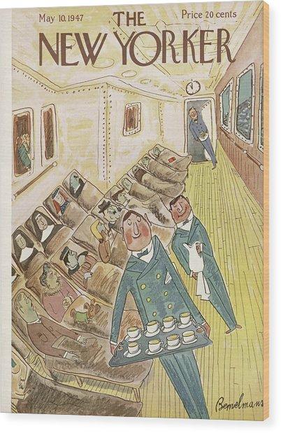New Yorker May 10th, 1947 Wood Print