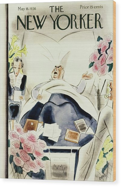 New Yorker May 16 1936 Wood Print