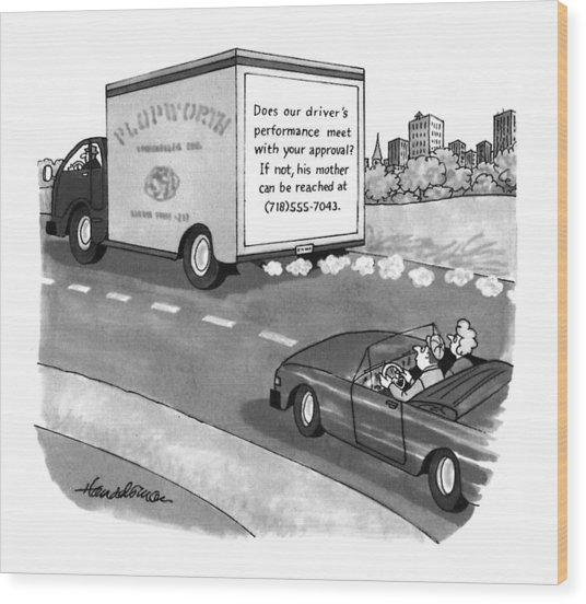 New Yorker May 17th, 1993 Wood Print