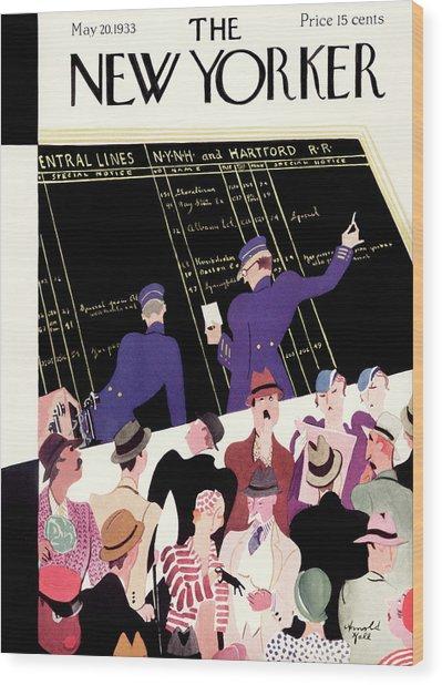 New Yorker May 20th, 1933 Wood Print