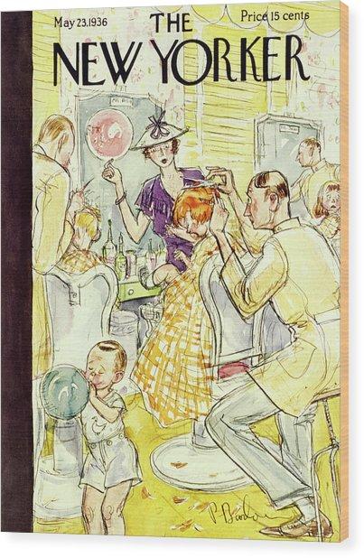 New Yorker May 23 1936 Wood Print