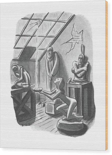 New Yorker May 24th, 1941 Wood Print