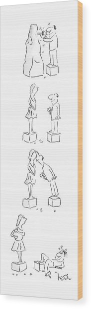 New Yorker May 25th, 1987 Wood Print
