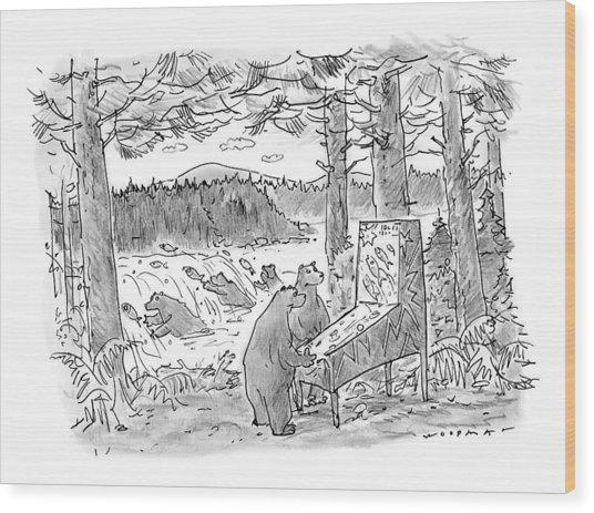 New Yorker May 25th, 1998 Wood Print