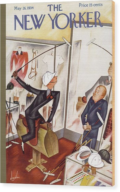 New Yorker May 26th, 1934 Wood Print