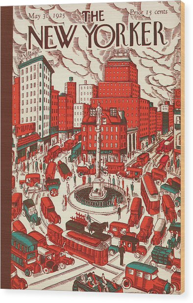 New Yorker May 30th, 1925 Wood Print