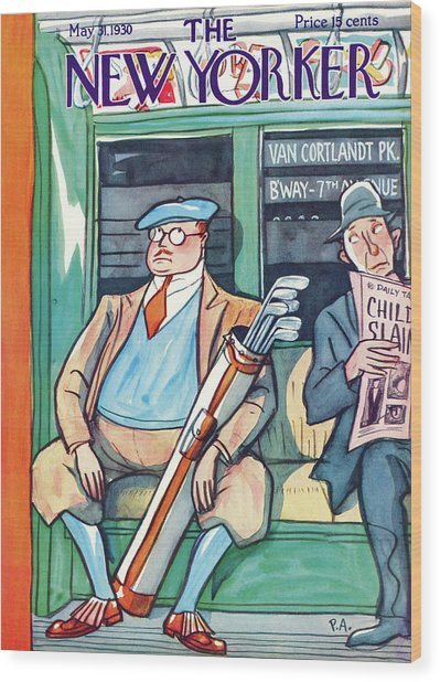 New Yorker May 31st, 1930 Wood Print