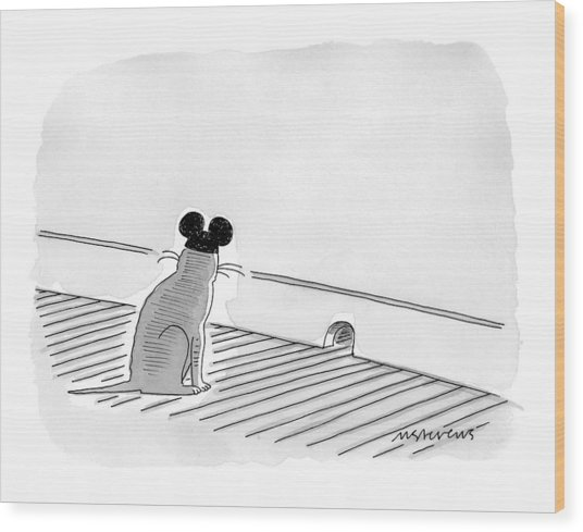 New Yorker May 31st, 1999 Wood Print