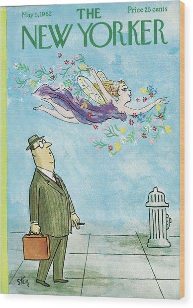 New Yorker May 5th, 1962 Wood Print