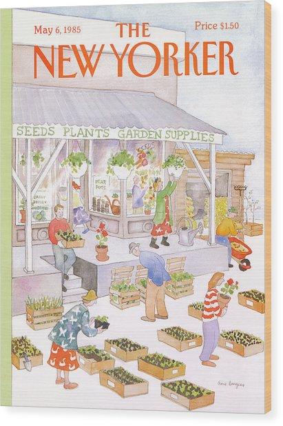 New Yorker May 6th, 1985 Wood Print