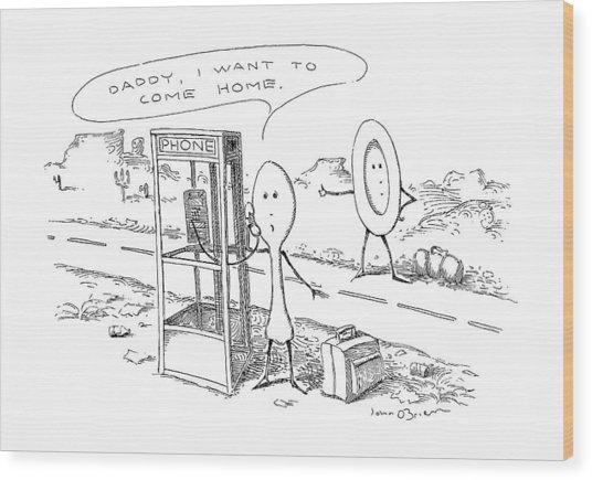 New Yorker May 6th, 1991 Wood Print