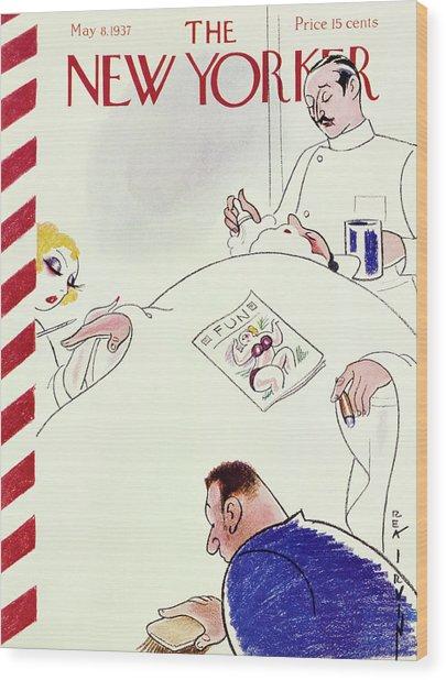 New Yorker May 8 1937 Wood Print
