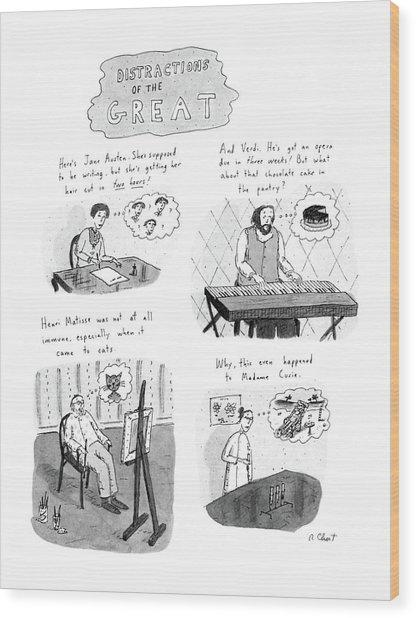 New Yorker November 10th, 1986 Wood Print