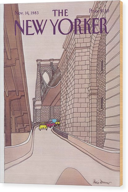 New Yorker November 14th, 1983 Wood Print