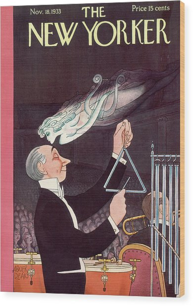 New Yorker November 18th, 1933 Wood Print