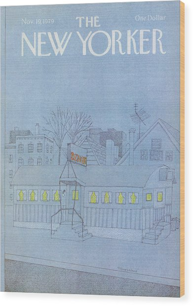 New Yorker November 19th, 1979 Wood Print
