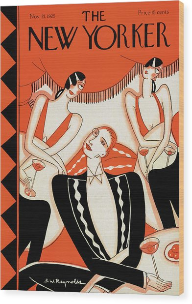New Yorker November 21st, 1925 Wood Print
