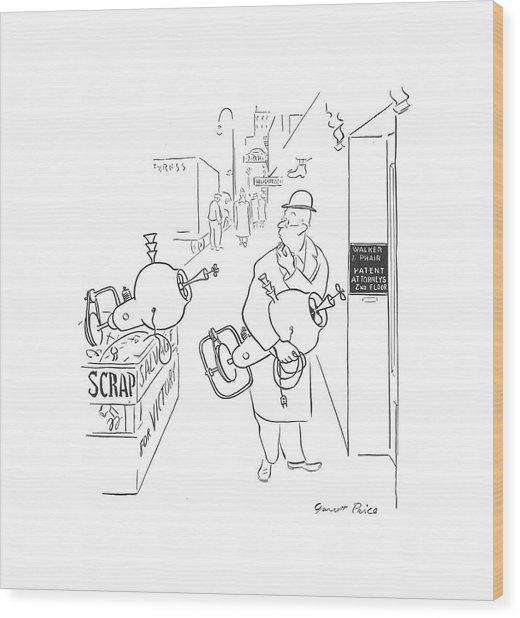New Yorker November 21st, 1942 Wood Print