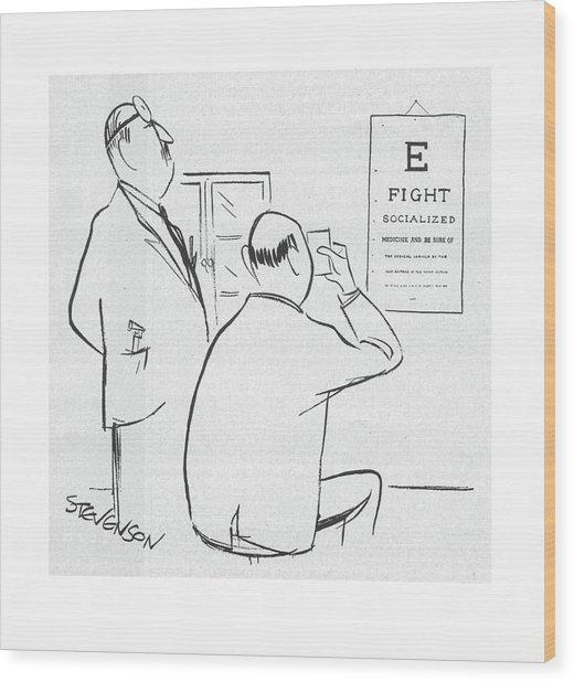 New Yorker November 22nd, 1958 Wood Print