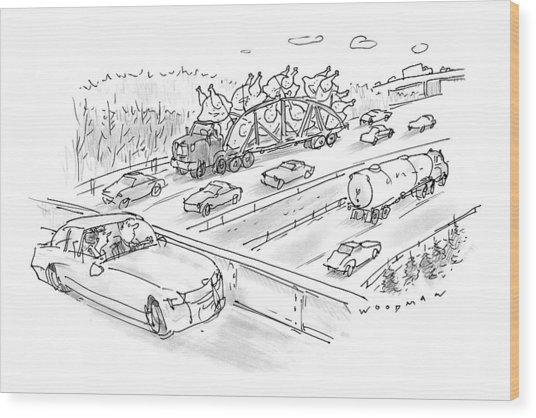 New Yorker November 23rd, 1998 Wood Print