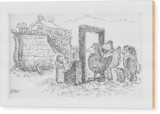 New Yorker November 24th, 1975 Wood Print