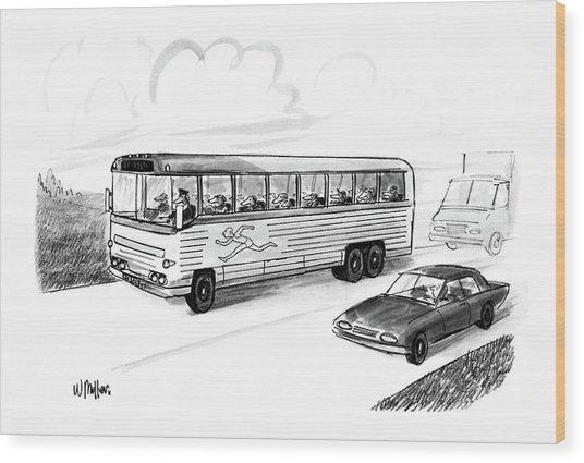 New Yorker November 28th, 1988 Wood Print