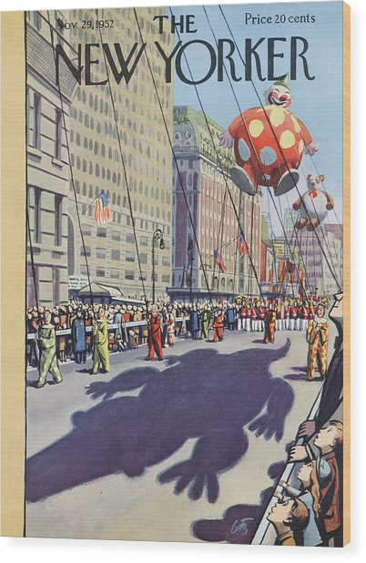 New Yorker November 29th, 1952 Wood Print