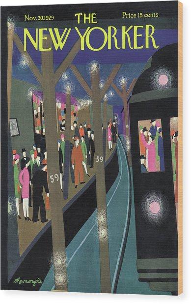 New Yorker November 30th, 1929 Wood Print
