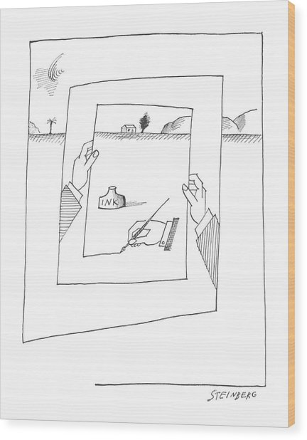 New Yorker November 30th, 1963 Wood Print
