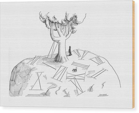 New Yorker November 4th, 1967 Wood Print