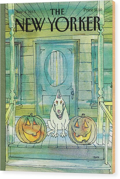 New Yorker November 4th, 1985 Wood Print
