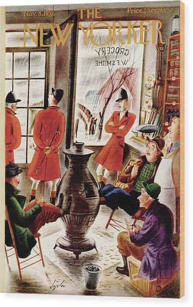 New Yorker November 8th, 1952 Wood Print
