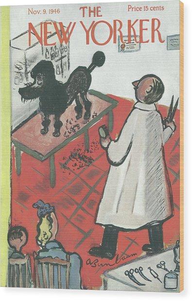 New Yorker November 9th, 1946 Wood Print