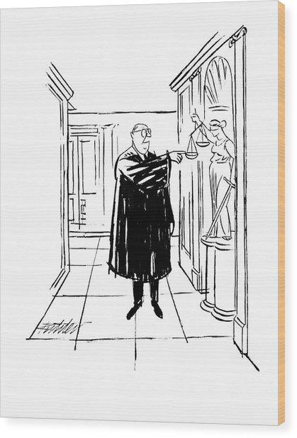 New Yorker November 9th, 1963 Wood Print
