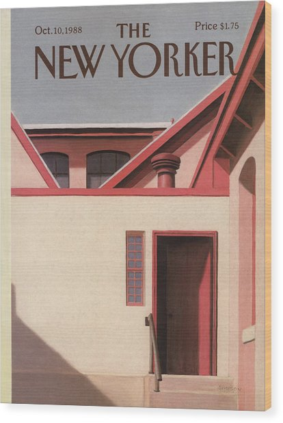 New Yorker October 10th, 1988 Wood Print