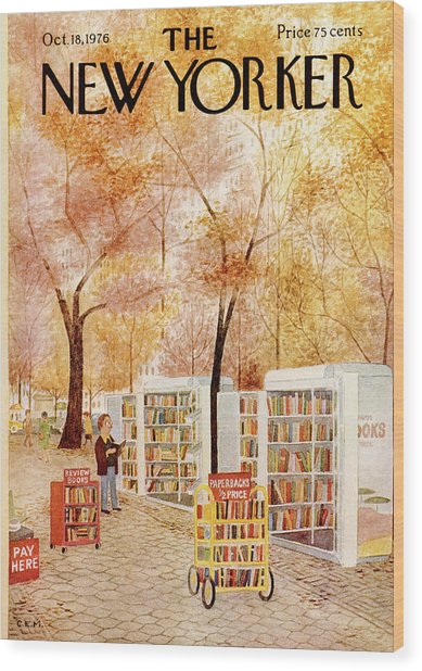 New Yorker October 18th, 1976 Wood Print