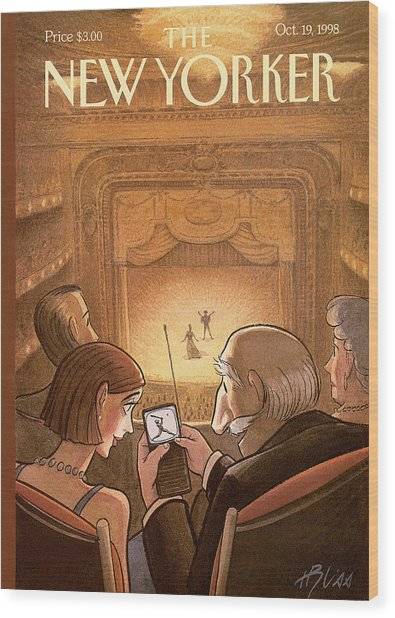 New Yorker October 19th, 1998 Wood Print