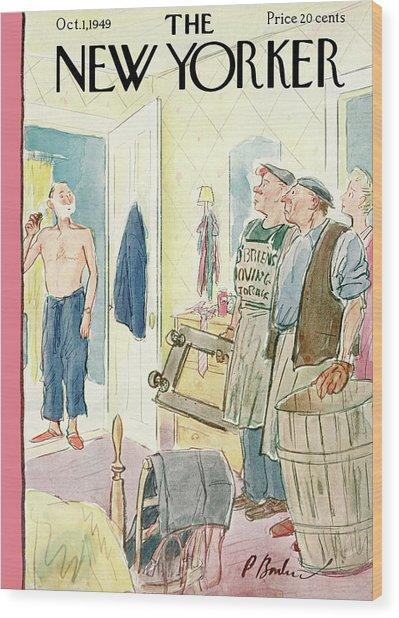 New Yorker October 1st, 1949 Wood Print