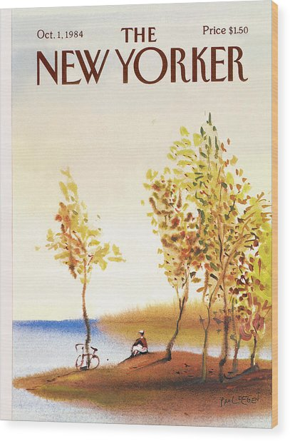 New Yorker October 1st, 1984 Wood Print