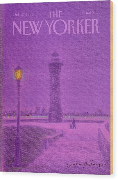 New Yorker October 27th, 1986 Wood Print