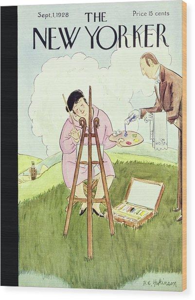 New Yorker September 1 1928 Wood Print