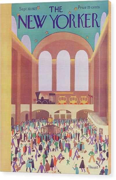 New Yorker September 10th, 1927 Wood Print